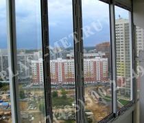 застекление балкона и лоджии алюминием профилем